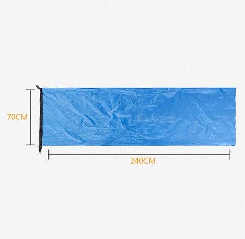 saco de dormir agua caso envelope azul marinho verde roxo