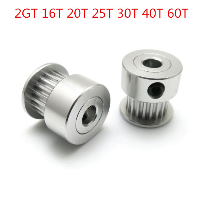 2GT 60T synchronizing pulley Belt Pulley aluminium alloy Pulley for synchronous belt drive