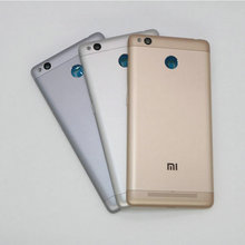 For Xiaomi Redmi 3S Back Housing Battery Back Cover Case For Xiaomi Redmi 3S 5.0 InchSnapdragon 430 Octa Core Smartphone