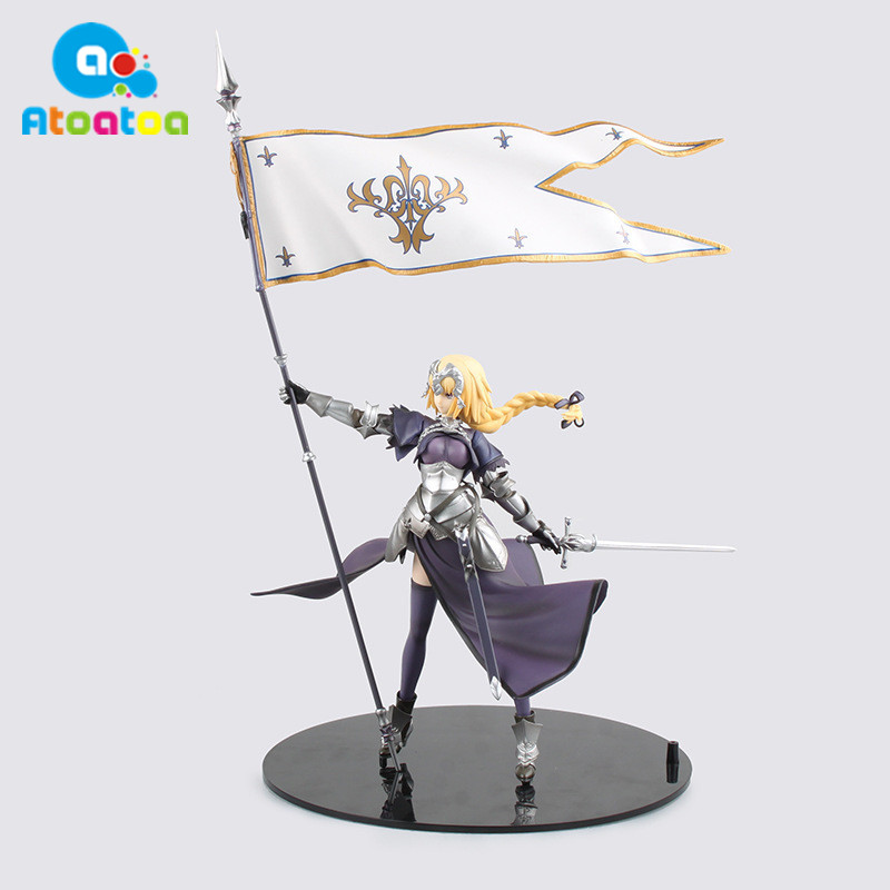 Anime Figure 20CM Fate/Apocrypha Jeanne d'Arc Saber Lily PVC Action Figure Collectible Toy Model Gifts No Box new hot christmas gift 21inch 52cm bearbrick be rbrick fashion toy pvc action figure collectible model toy decoration