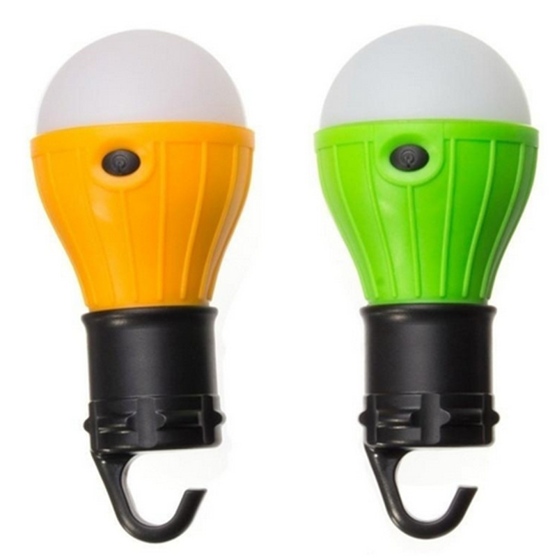 Outdoor Portable Hanging LED Camping Tent Light Bulb Fishing Lantern Lamp Safety & Survival