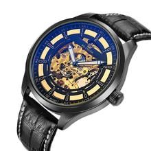 Orkina mens relojes gran dial auto esquelético mecánico reloj masculino  relojes hombre 2016 Montres 09afaf827ff2