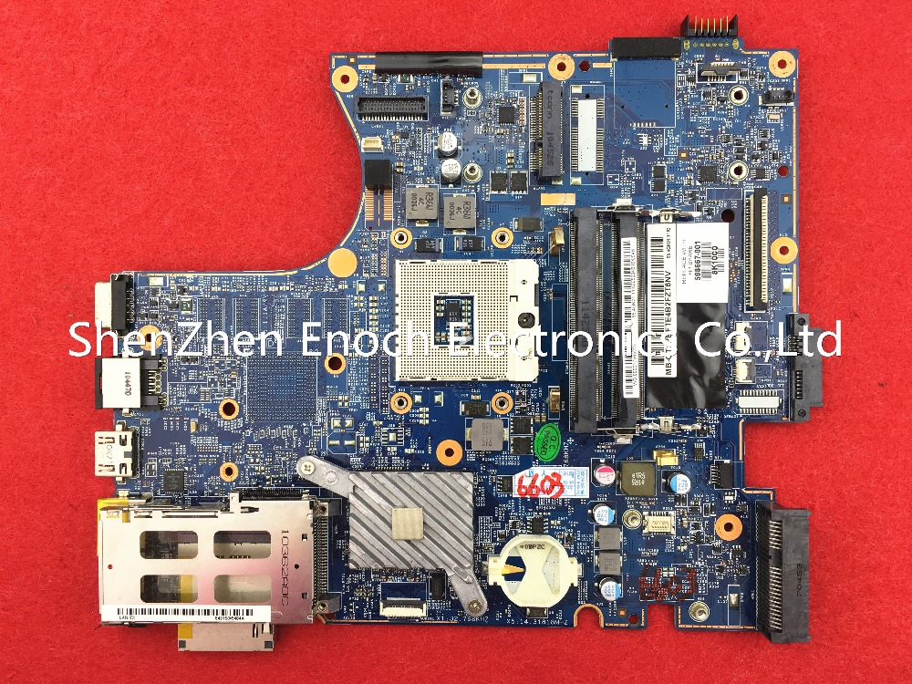 все цены на  598667-001 for HP probook 4520S 4720S laptop motherboard integrated H9265-4 48.4GK06.041   store No.204  онлайн