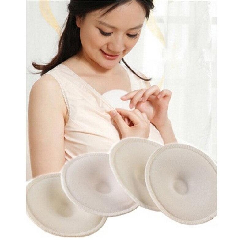 6Pcs Breast Pads Anti-overflow Maternity Nursing Pad Baby Feeding Breastfeeding Washable Breathable Absorbency mom necessary