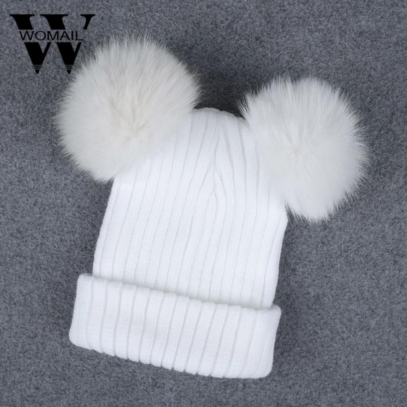 faux fur ball cap poms winter hat for women girl 's hat knitted beanies cap thick female cap high quality new 4pcs new for ball uff bes m18mg noc80b s04g