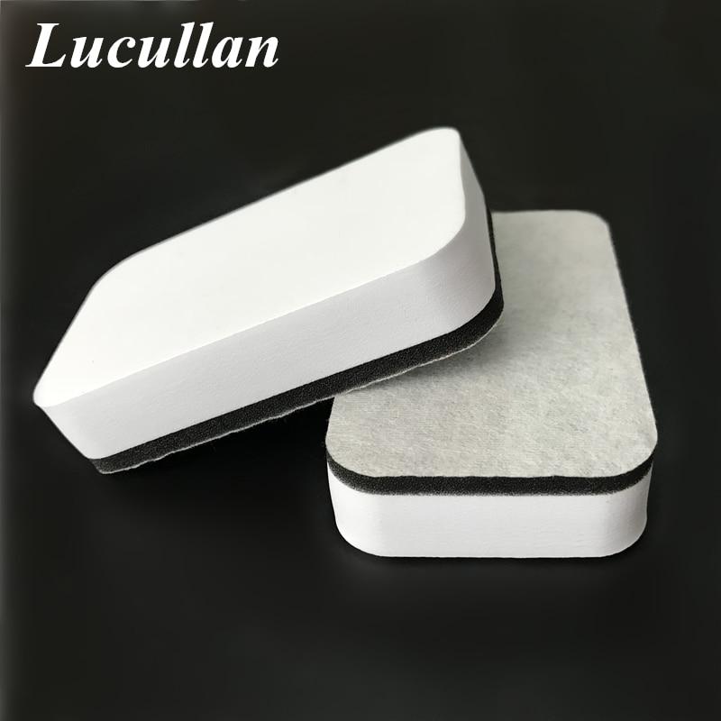Lucullan дизайнерская Нетканая ткань нано-краска покрытие губка жидкое керамическое покрытие для автомобиля Защита стекла аппликатор