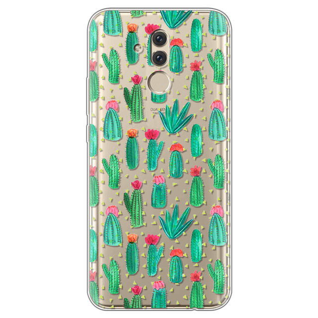 TPU Soft Minnie Case For Huawei Mate 20 Lite Case 6 3 inch Transparent  Silicone Phone For Huawei Mate 20 Lite Cover Coque Capa