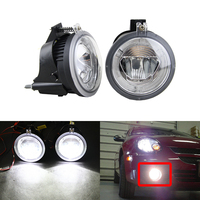 Direct Fit For Dodge Neon 2003 2004 2005 Auto Front Fog Light Assembly W/ Xenon White Guide DRL Halo Rings Lamp Kit Error Free