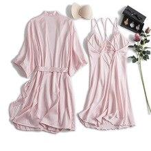 Женский шелковый халат MECHCITIZ, летний халат, мини платье, ночная рубашка, халаты для невесты
