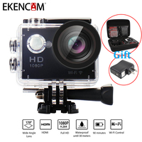 EKENCAM W9 Action Camera 30m Waterproof 2 Inches LCD Screen Wi Fi Remote 1080p Full HD