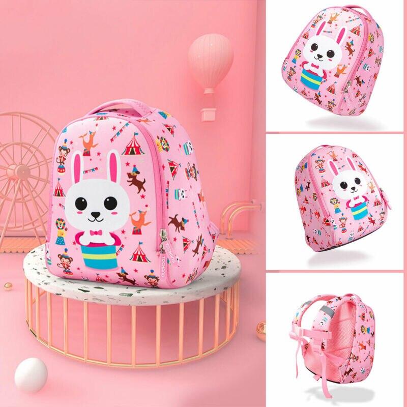 2019 Newest Hot Newborn Infant Child Kindergarten Cartoon Animal Printed Girl Boy Baby Kid School Book Bag Backpacks Anti Lost
