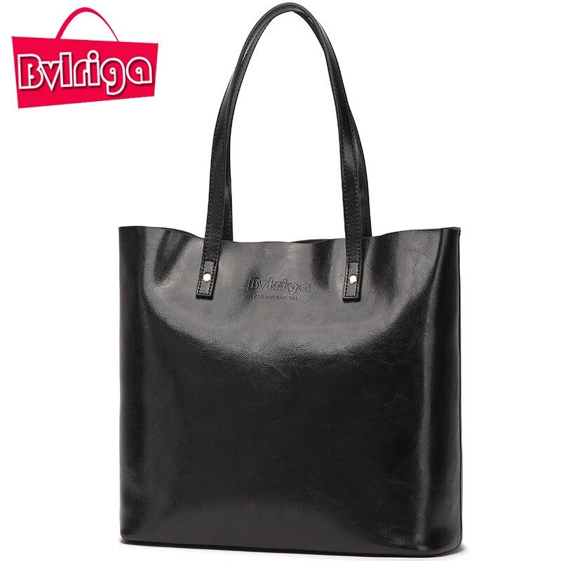 BVLRIGA Ladies' Genuine Leather Handbag Shoulder Bag Women's Handbag Bags Handbags Women Famous Brands Women Bag цена 2017
