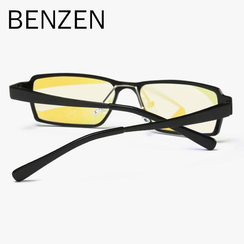 BENZEN Anti Blau Rays Computer-brille Readers Lesegläser Al-MG Rahmen Gläser Gr85lu4N6k