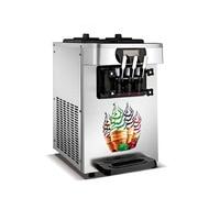 Stainless steel soft serve ice cream machine ice cream making machine for sale