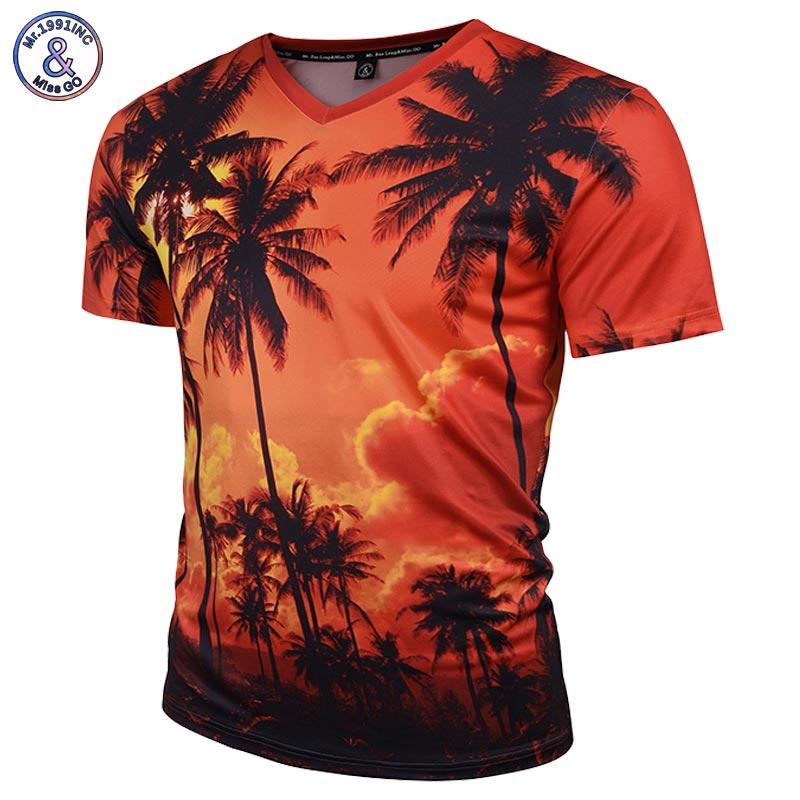 Brand t shirt men women 3d t shirt v neck print for Branded v neck t shirts