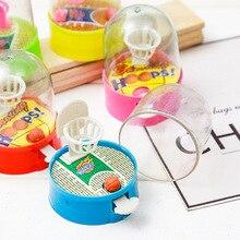 2 шт./лот, развивающая баскетбольная машина, антистрессовый плеер, ручные детские игрушки, подарок, пластиковая Горячая Распродажа, игрушки для детей