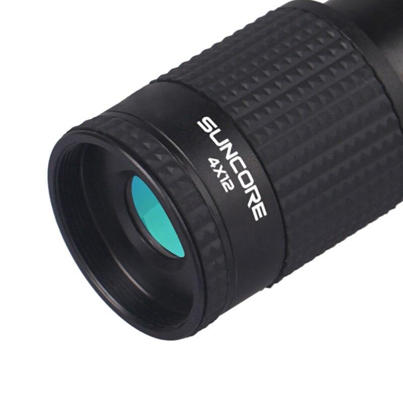Image 3 - Профессиональный зум Монокуляр 4x12 водонепроницаемый телескоп HD Портативный Телескопический Spyglass бинокль Охота Стрельба гольф Туризм-in Телескоп и бинокли from Орудия