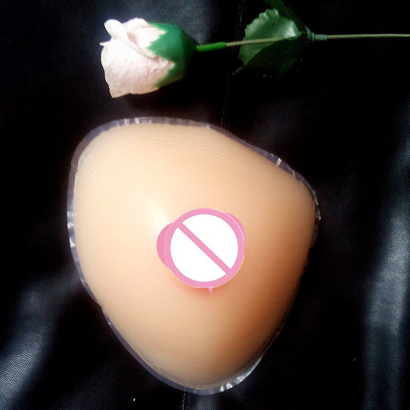 free shipping ,cheap hot selling natural silicone breast forms 1600g E/F cup for shemale cross-dresser