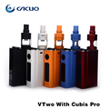 Russian Warehouse Original joyetech evic vtwo with cubis pro 4ML atomizer 80W box mod  Firmware Upgradeable from evic vt kit