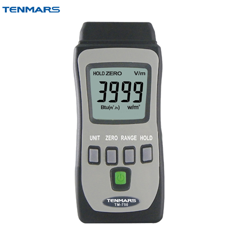 TENMARS TM-750 Mini Pocket Solar Power Meter 4000W/m2, 634Btu/(ft2*h) s quire 947131