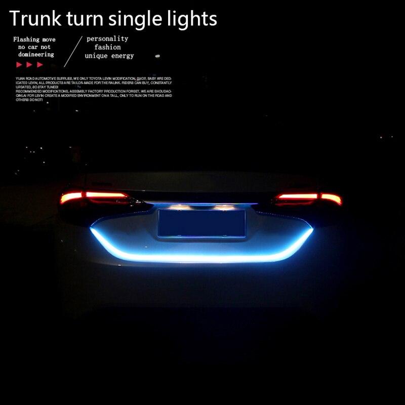 Auto Kofferbak Verlichting Strips LED Rem Waarschuwingslichten Staart licht  Dynamische Streamer Led Voor Rem Richtingaanwijzer Leds Lichten Strips in  ...