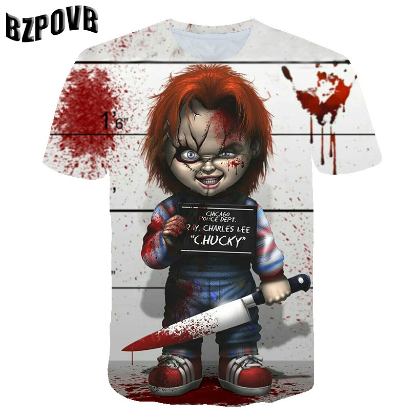 Customized DC Comic X Task Force Suicide Squad Clown Leto Suicide Team 3D Digital Patterns Printed T-shirt Short Sleeves