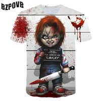 Personalizado de cómic de DC X Fuerza de Tarea de escuadrón de suicidio payaso Leto suicidio equipo 3D patrones digitales impreso camiseta manga corta