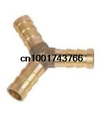 5pcs 3 ways OD12 BSP Y House Barbed Connection Pipe Brass Coupler Adapter  15pcs lot 3 ways 10mm bsp tee hose barbed connection pipe brass coupler adapter brand new