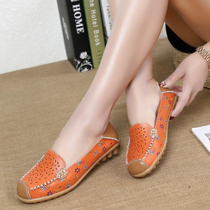 0770a0b6b74536 Femme Imprimer White orange Creusent yellow Respirant Chaussures blue Plat  rose En Mode Qualité Dehors Casual Red Véritable D'été Sandales Haute ...