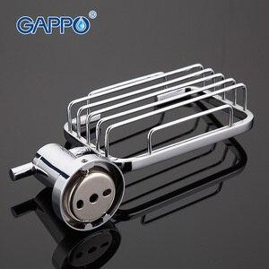Image 2 - GAPPO 1เซ็ตที่มีคุณภาพสูงผนังmoutห้องน้ำจานสบู่สแตนเลสห้องน้ำสบู่ตะกร้ากล่องสบู่ที่วางจานGA1802 1