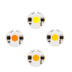 10pcs/lot LED 220V COB Bead 12