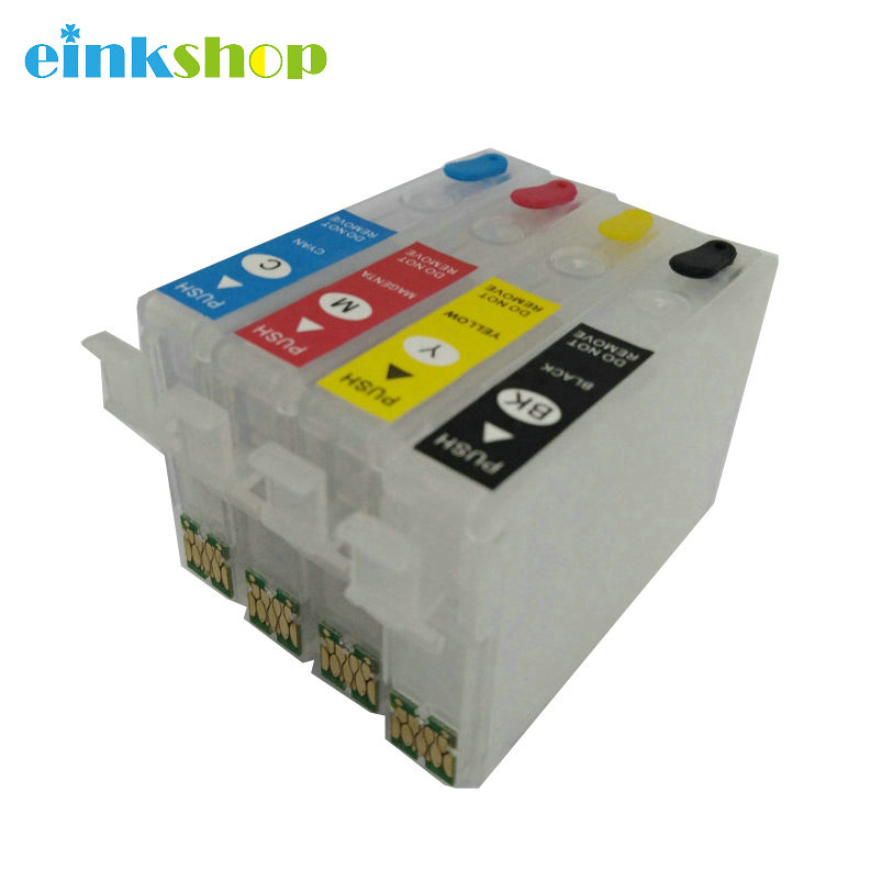 T2971 T2962 T2963 T2964 Refillable ink Cartridge With one time Chip For Epson XP231 XP241 XP431 XP-231 XP-431 XP-241 Printer t410xl t410 410xl single chip xp 530 xp530 xp 630 xp 830 cartridge chip for epson xp900 xp645 xp635 xp540 printer ink cartridge