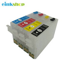 T2971 T2962 T2963 T2964 Refillable ink Cartridge With one time Chip For Epson XP231 XP241 XP431 XP-231 XP-431 XP-241 Printer  296 297 t296 t297 ciss inkjet cartridge dye ink refill kit for epson xp 231 xp 241 xp 431 xp 441 xp 231 241 xp231 xp241 printer