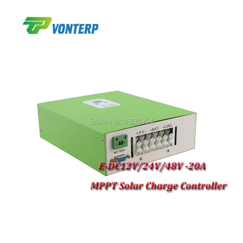 2015 new MPPT Solar Regulator Charge Controller 20A 12v 24v 48v me esmart3 12v 24v 36v 48v rs485 smart mppt solar charge controller 20a 30a 40a