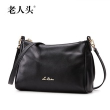 LAORENTOU high quality luxury fashion brand 2016 new diagonal shoulder bag counter genuine leather handbag, famous brand women