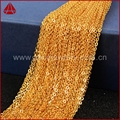 16'' 18'' 30'' Gold Plated Chains For Jewelry 24K Gold Plated Long Chain Necklace Golden Flat Cable Chain Losbter Clasp G466