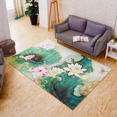 Tapis de zone d'animal de bande dessinée de 100*300 cm pour des tapis et des tapis de chambre d'enfants de salon - 2