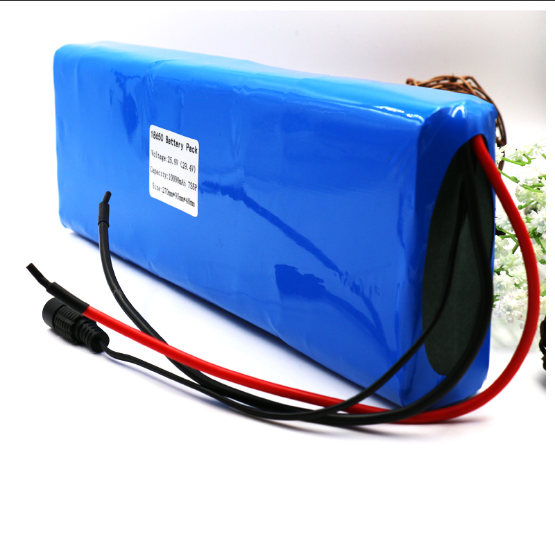 Sunway 25.9v 24V 10000mAh 29.4v 7S electric bicycle motor ebike scooter li-ion battery pack 18650 lithium rechargeable batteries mercane m1 three wheeled electric scooter folding lithium battery bicycle