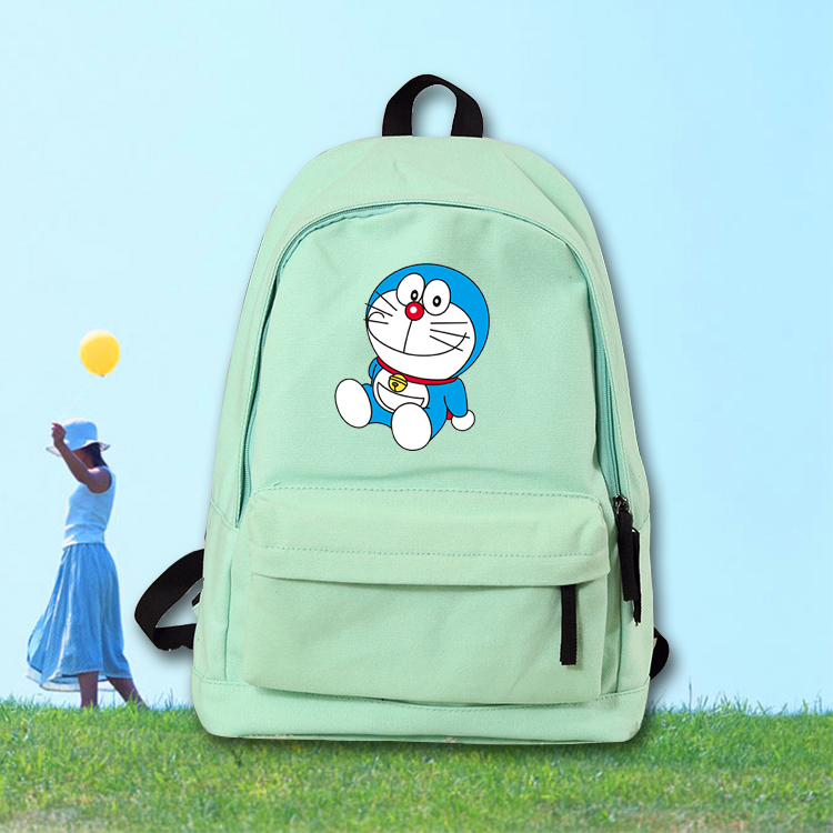 Anime Doraemon Cosplay Cartoon campus male and female students backpack casual wild cute backpack