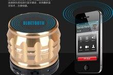 Super Bass Speaker Portable Mini Bluetooth Speakers Metal Smart Speaker FM Radio