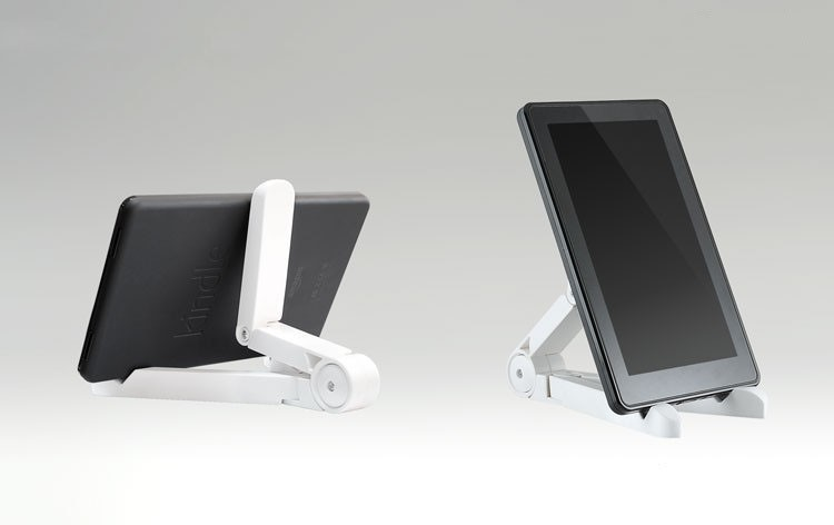 High quality Portable Fold-up Stand Holder for 7-10 Tablet PC stand for iPad Mini/Kindle Android Tablet Bracket
