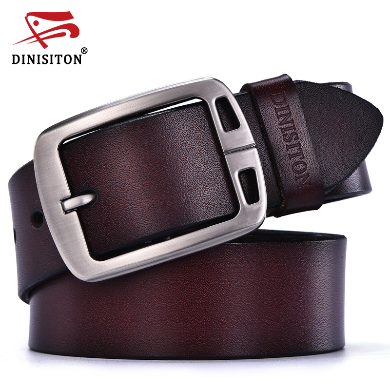 Womens Ring Leather Belt Round Buckle Belts Strap Jeans Belt Practical Gifts YY