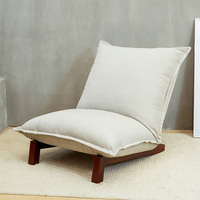 바닥 foldable 휴식 소파 안락 의자 의자 접는 chaise 거실 가구 현대 reclining 레저 의자 패브릭 실내 장식