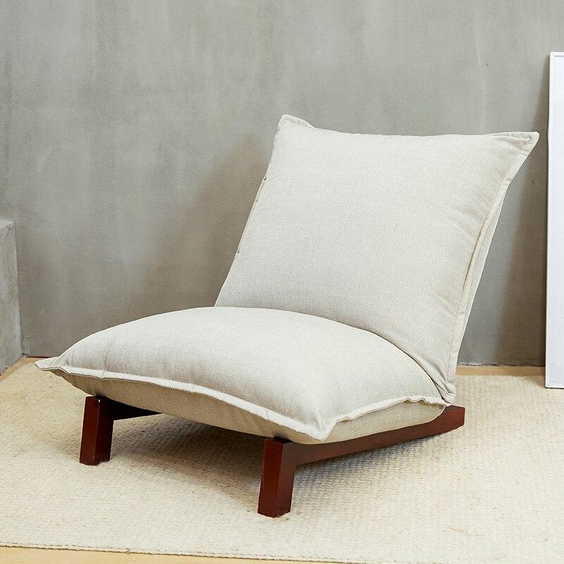 Plancher Pliable Relax Canapé Inclinable Chaise Pliante Chaise Salon Meubles Moderne Inclinable Chaise De Loisirs Tissu D'ameublement