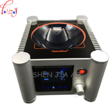1pc HMS 901H laboratory equipment semi circular magnetic stir welding sets of microcrystalline ceramic heating uniform