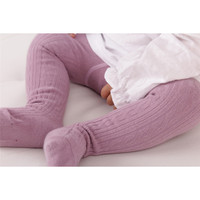 Baby girl autumn striped tights children pantyhose stockings girls Wavy Lines Print Stockings Knitting Cotton Stockings Feb09