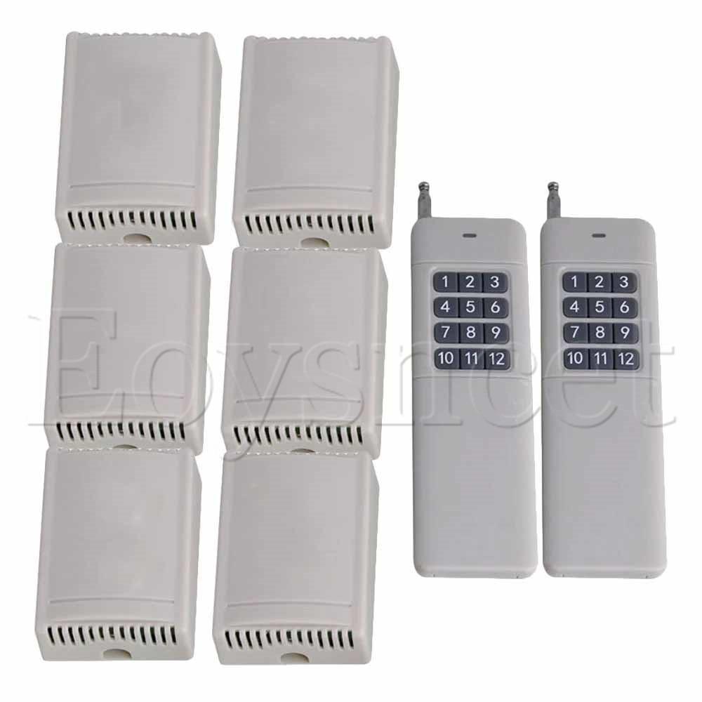 433MHz 2CH 12V 300M Remote Control Self-lock 12Key Switch Door Opener433MHz 2CH 12V 300M Remote Control Self-lock 12Key Switch Door Opener