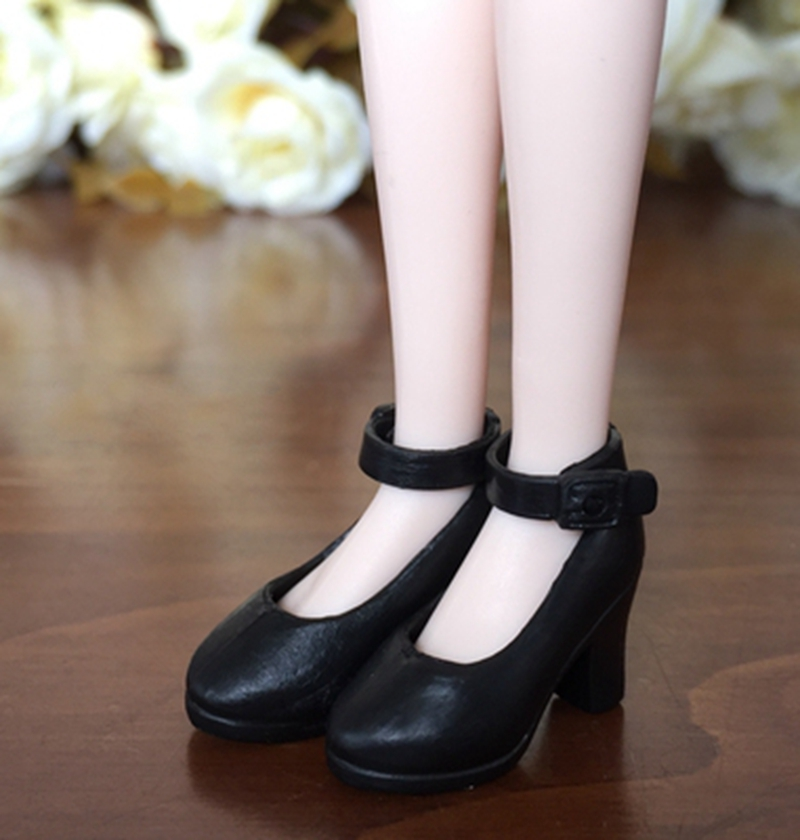 4Pairs High Heel Shoes For Blythe Dolls 1//6 Fashion Shoes For Licca Momoko Doll