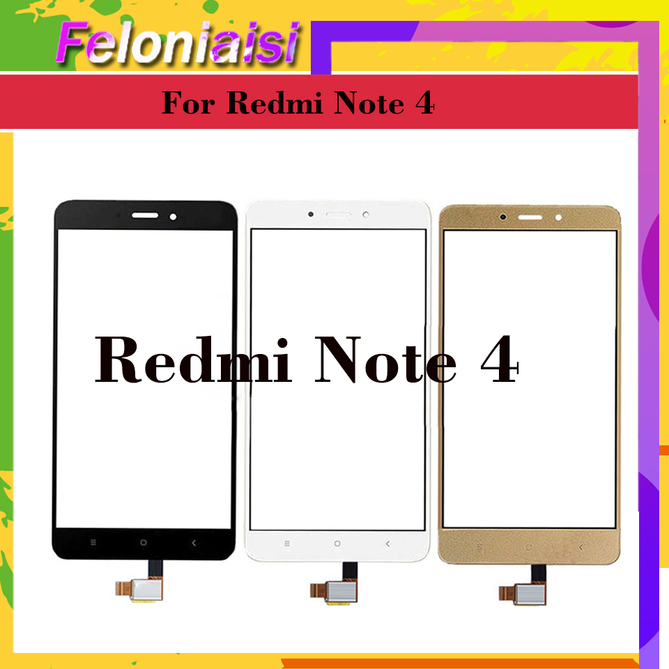 10Pcs lot Original For Xiaomi Redmi Note 4 Touch Screen Digitizer For Redmi Note 4X Touch Panel Sensor Front Glass Touchscreen in Mobile Phone Touch Panel from Cellphones Telecommunications