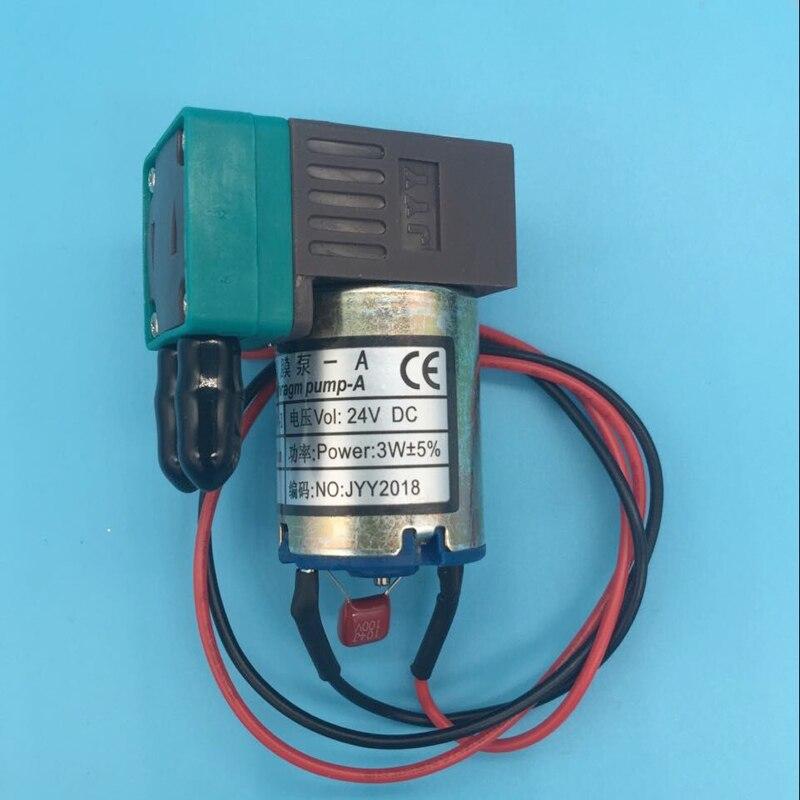 5 pièces/lot Micro diaphragme 3W JYY pompe à encre pour Infiniti Phaeton cristaljet Xuli imprimante grand format 100-200 ml/min 24dc pompe à encre